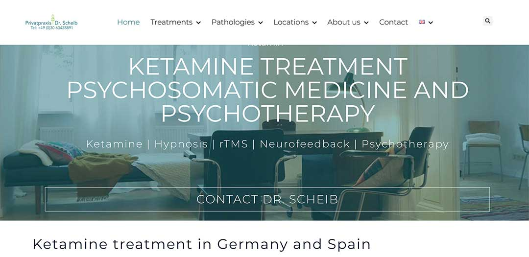 Ketamine treatment in Germany for Depression, trauma, ocd, pain